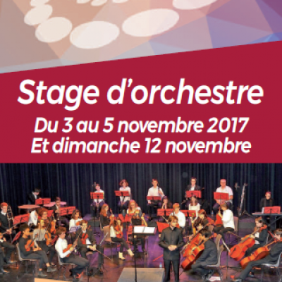 Stage d'orchestre