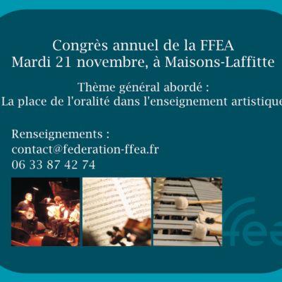 Congrès de la FFEA -